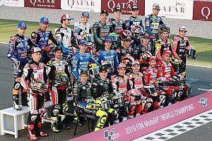 Fotogallery: il primo giorno di scuola della MotoGP 2019 in Qatar