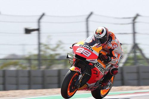 """Lorenzo: """"Honda tiene que investigar y evitar que la cadena se vuelva a salir"""""""