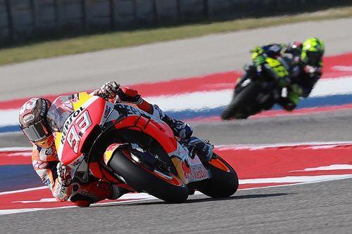 Viñales verschalkt COTA-topfavoriet Marquez op vrijdag, Rossi P3