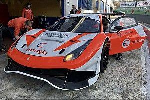 Debutto per Vezzoni con la Ferrari 488 GT3 in vista del Campionato Italiano GT 2019