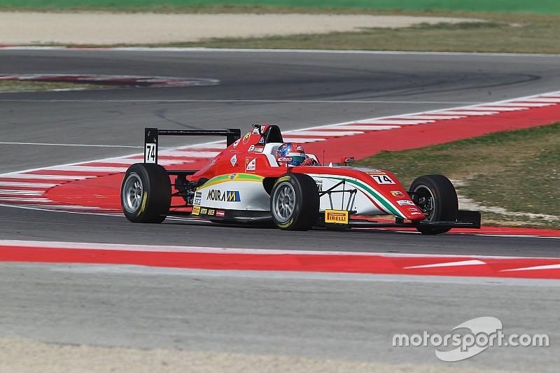 Gracias a un podio, Enzo Fittipaldi mantiene liderato de F4 Italiana