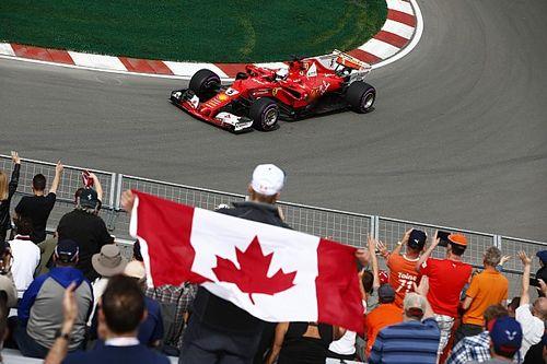 Fotogallery: le prove libere del GP del Canada