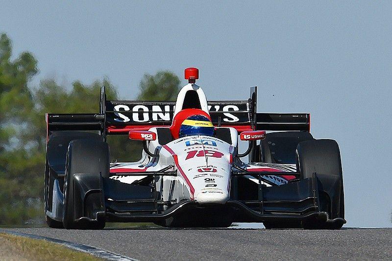 Бурдэ возглавил тесты IndyCar на «Сономе», Алешин – 9-й