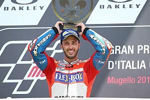 "MotoGP 速報ニュース 【MotoGP】ドヴィツィオーゾ、悟る? 昨年の""心境の変化""が好調の鍵"