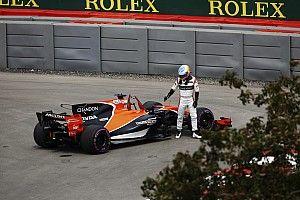 Kembali ke F1, Alonso lagi-lagi alami masalah reliabilitas