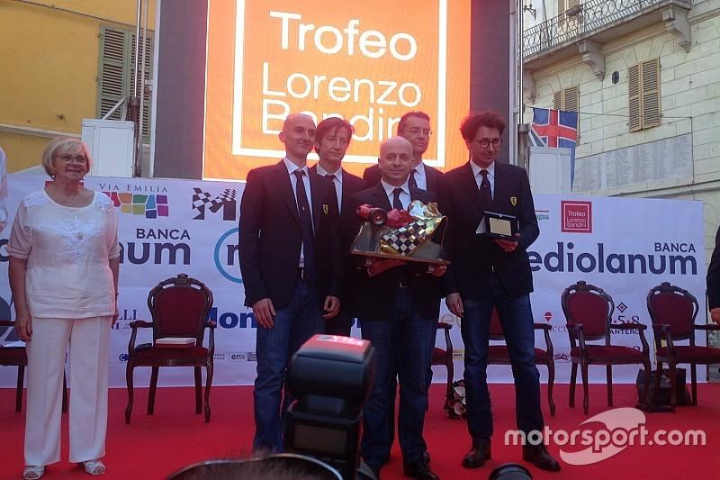 """Trofeo Bandini: premiata la Ferrari, Binotto e i suoi """"fratelli"""""""