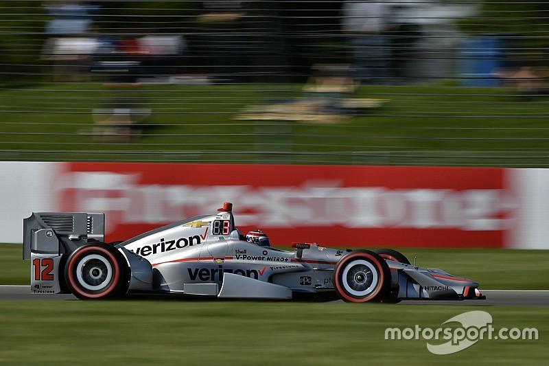 Пауэр выиграл поул в Индианаполисе с рекордом трассы, Алешин 17-й