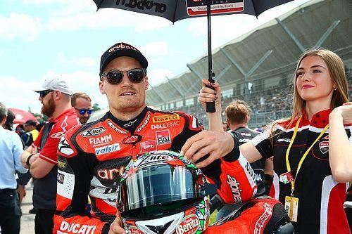 """Davies : """"Je ne peux dire que de bonnes choses à propos de la moto"""""""