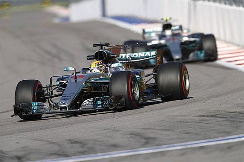 Mercedes gibt zu: Ferrari macht in Sochi 2017 die bessere F1-Figur