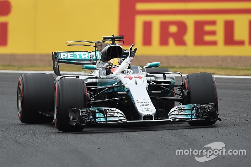 Hamilton overtuigend naar pole in enerverende kwalificatie, vierde startplek Verstappen