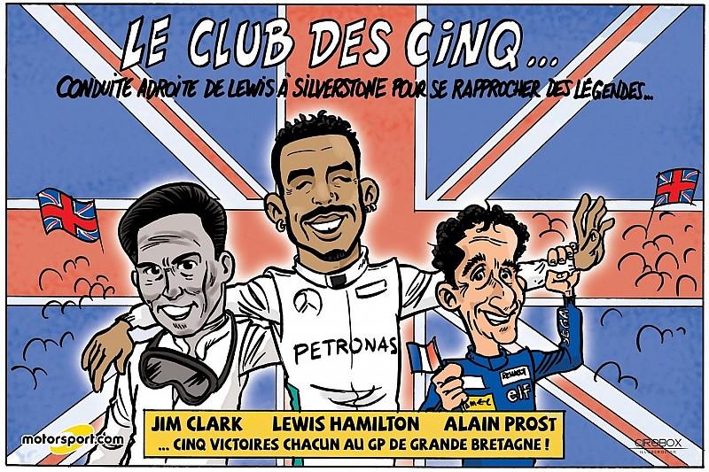 Le GP de Grande-Bretagne vu par Cirebox!