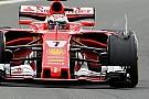 Pirelli: Räikkönen sans doute victime d'un