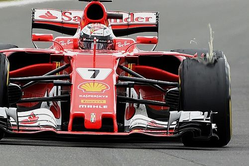 Pirelli says Vettel, Raikkonen problems totally different