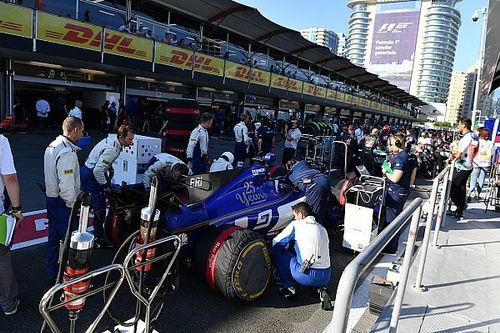 E nel GP dell'Azerbaijan c'è pure una Sauber in zona punti