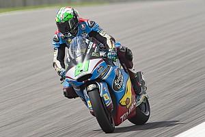 Moto2 Verslag vrije training Morbidelli toont spierballen in tweede training Moto2 Oostenrijk