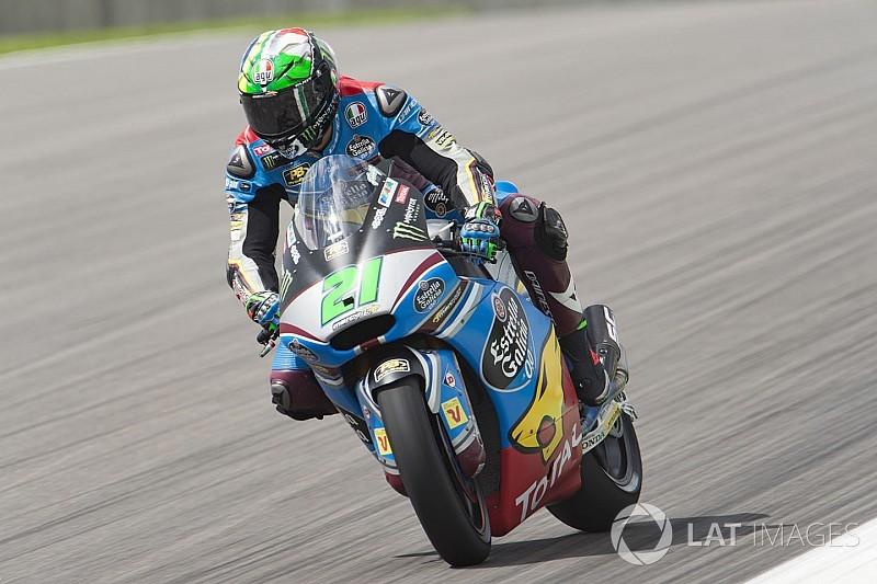 Moto2 Jerman: Morbidelli curi pole dari Marquez