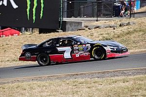 Will Rodgers lost to Harvick at Sonoma, but had the time of his life