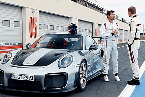 Vídeo: Mark Webber se enfrenta a Walter Röhrl en un Porsche 911 GT2 RS