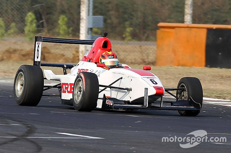 Chennai MRF F1600: Kumar takes lights-to-flag win in Race 2