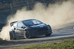 Wurz completes maiden Rallycross Supercar test