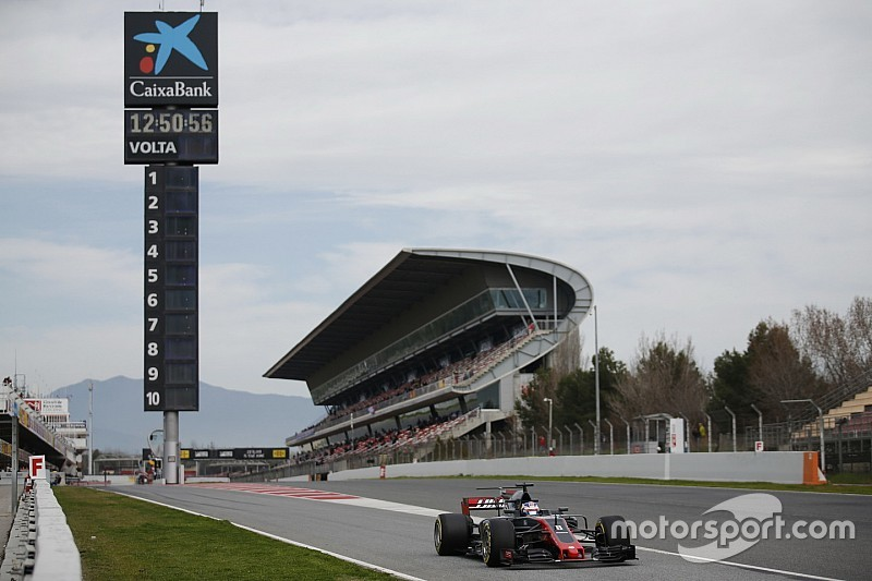 コメントライブ&総合順位:F1バルセロナ合同テスト3日目