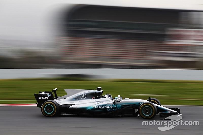 【F1】バルセロナテスト2日目午前:ボッタスこのオフ最速を更新