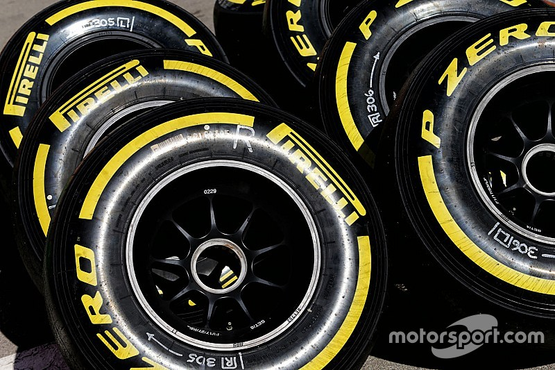 La F1 revela sus planes de test de neumáticos en 2017