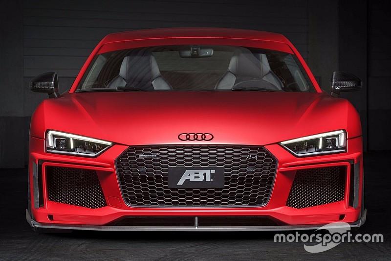Photos - L'Audi R8 V10 Plus version ABT Sportline!