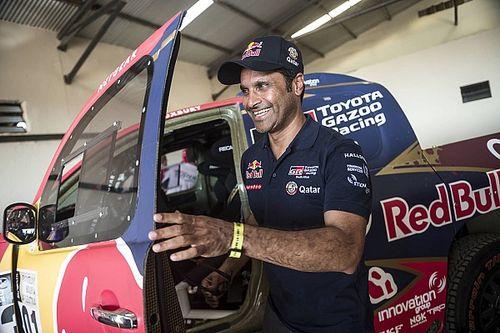 "Al-Attiyah ""lucky"" car fire didn't wreck Dakar victory bid"