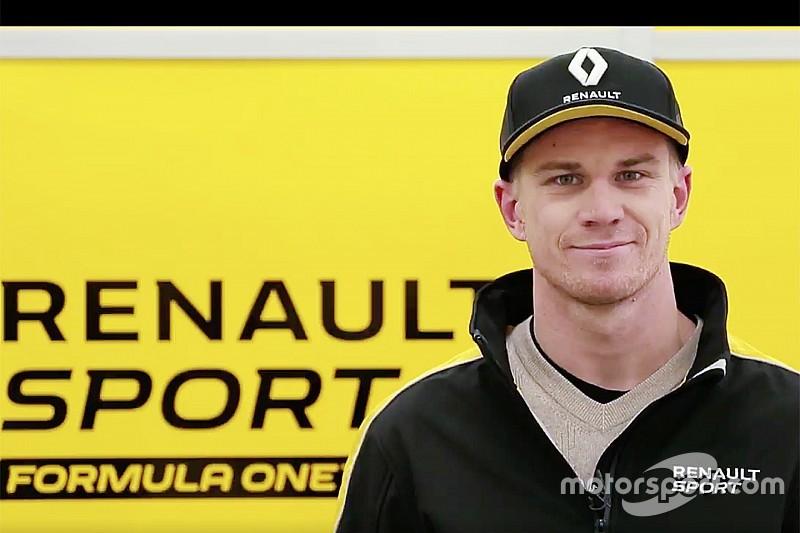 Renault - Hülkenberg ne s'attend pas à jouer le top 6 en 2017
