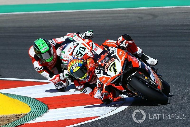 Portimao, Warm-Up: Chaz Davies riaccende le speranze Ducati