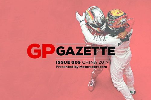 Chinese GP: Issue #5 of GP Gazette now online