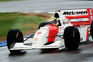 Formel 1 Historie Vor 25 Jahren: Die legendäre F1-Startrunde von Ayrton Senna in Donington