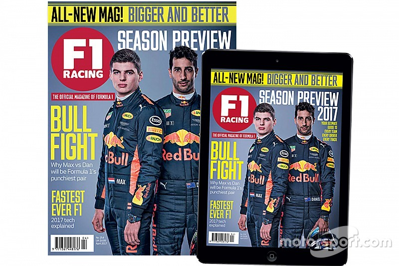 Motorsport Network upgrades new and improved F1 Racing magazine