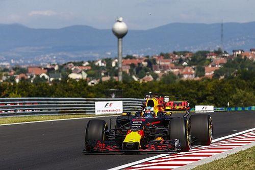 Ricciardo coloca Red Bull à frente no TL1 na Hungria
