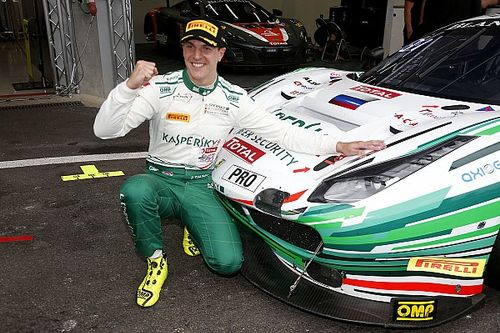 James Calado e la Ferrari in pole alla 24 Ore di Spa