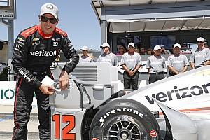 IndyCar Relato de classificação Power é pole em Iowa; Castroneves larga em 3º