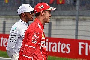 """Vettel őszintén beszélt Hamiltonról: """"Olyan dolgokat tesz, amit én sosem tennék meg"""""""