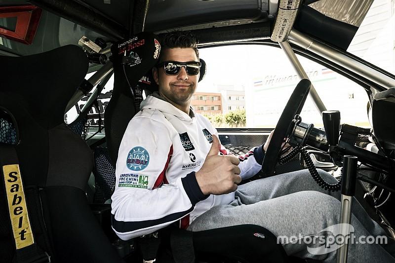 Leopoldo Maestrini al Rally Due Valli su una Skoda Fabia R5