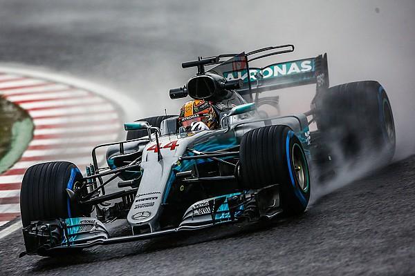 Formule 1 Hamilton : Sous la pluie, le public est floué par une règle
