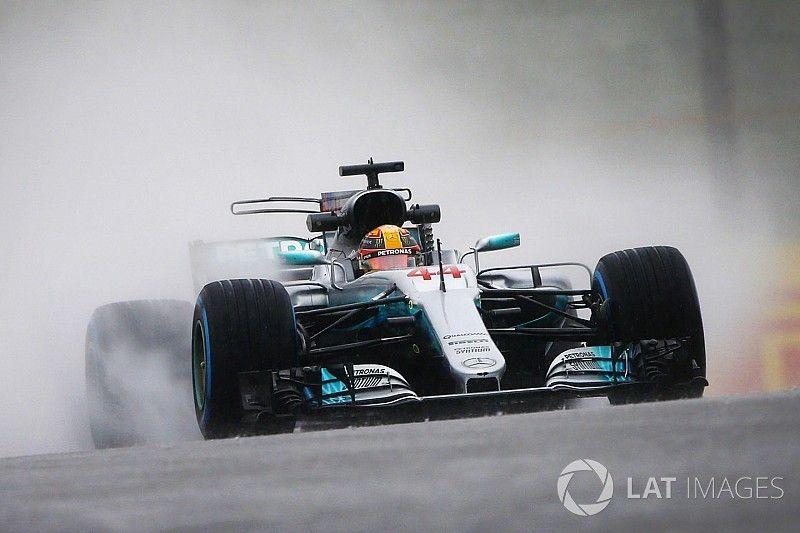 Weinig actie tijdens verregende tweede Formule 1-training op Suzuka