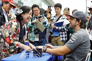 """Alonso, listo para """"disfrutar cada minuto de un fin de semana especial"""" en Japón"""
