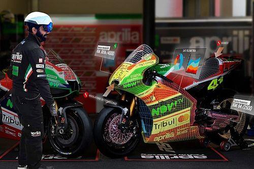 Aprilia allarga gli orizzonti della MotoGP con la realtà aumentata
