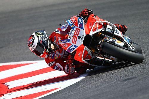 Lorenzo esperaba ir mucho más rápido en este primer día