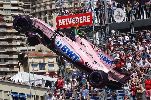 Формула 1 Самое интересное Видео: замедленный повтор аварии Окона