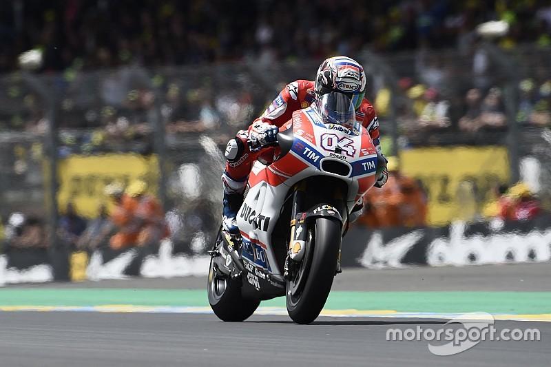 "Dovizioso: ""Lorenzo pilotó divinamente en Jerez pero no me sorprende que sufriera en Le Mans"""