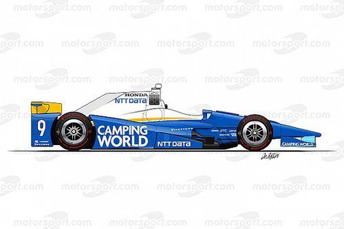 GALERI: Semua livery mobil Indy 500 2017