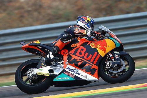 Miguel Oliveira ferma la striscia di pole di Pasini ad Aragon