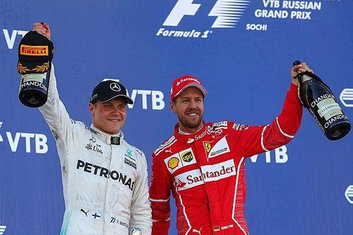 Gewinner & Verlierer beim Formel-1-GP Russland 2017 in Sochi