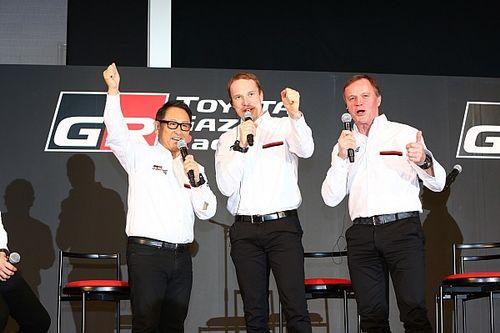 【WRCフランス】豊田社長「プロのチームを築きあげたマキネンに感謝」